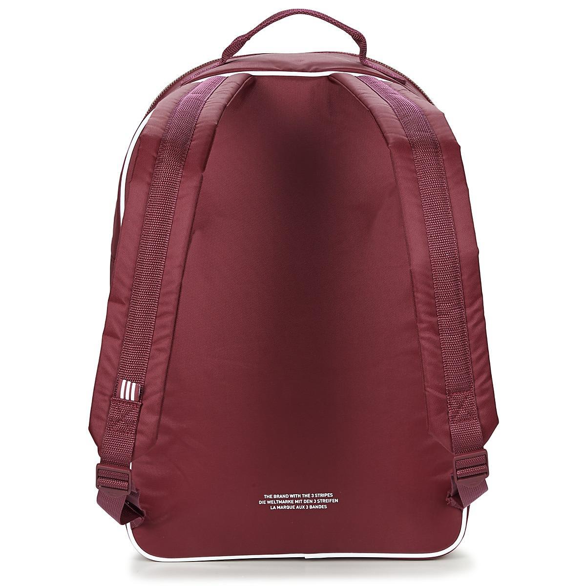 Adidas - Classic Adicolor Bp Men s Backpack In Red for Men - Lyst. View  fullscreen 11c36b074c5ce