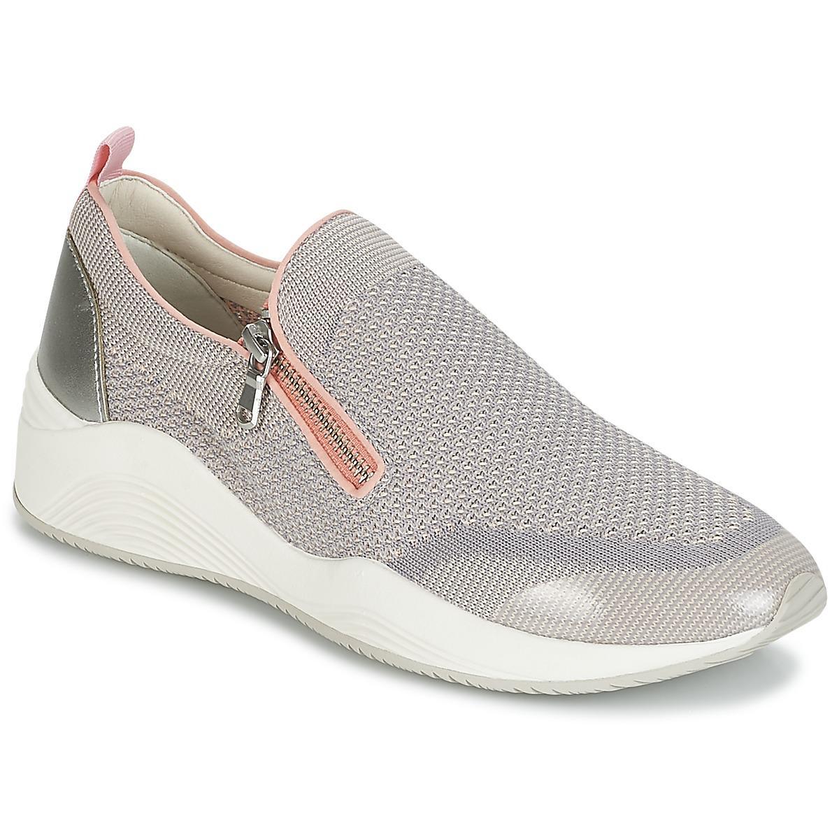 ec107b963d572 Geox D Omaya C Women's Shoes (trainers) In Grey in Gray - Lyst
