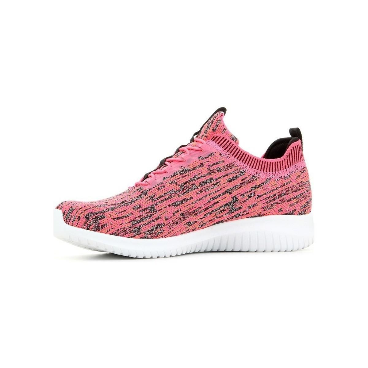 d6838aeb4328a Skechers Ultra Flex Bright Horizon Women's Shoes (trainers) In Pink ...