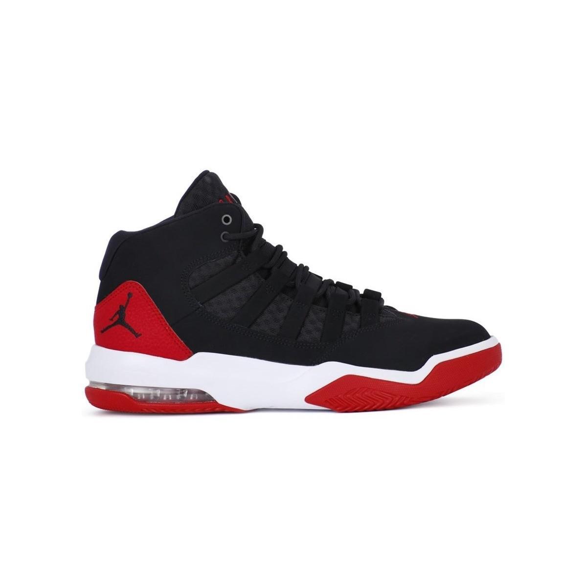 f3355a4e78a660 Nike Jordan Max Aura Men s Shoes (high-top Trainers) In Black in ...