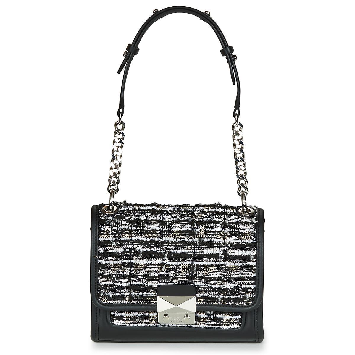 e45d1c11722d Karl Lagerfeld. K kuilted Tweed Small Handbag Women s Shoulder Bag In Black