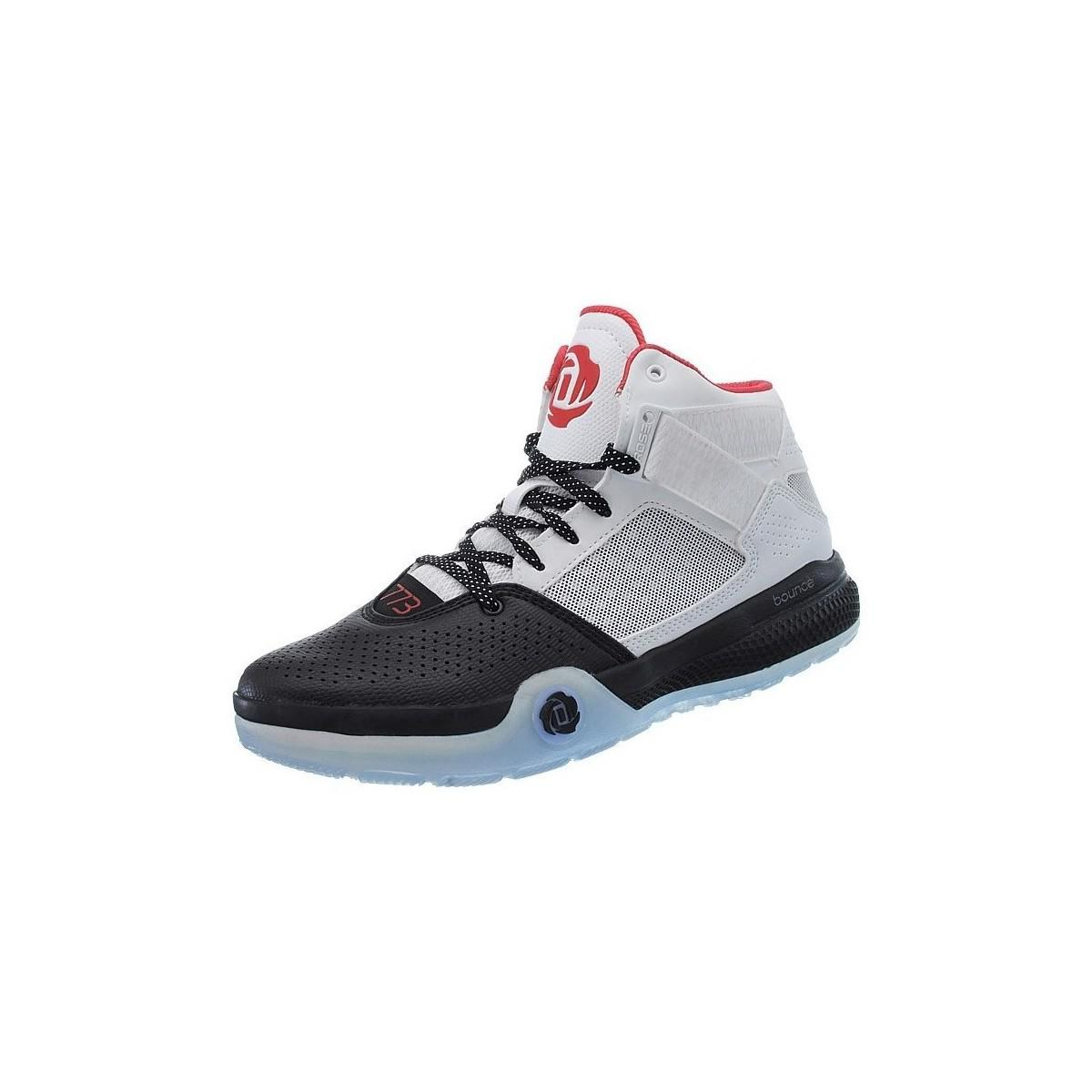 the best attitude beda0 21cbb Adidas D Rose 773 Iv Mens Shoes (high-top Trainers) In Black