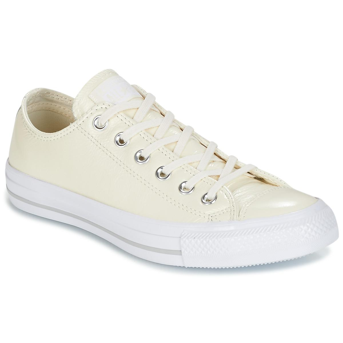 79fccfcdf4520e Converse Chuck Taylor All Star Crinkled Patent Leather Ox Egret ...
