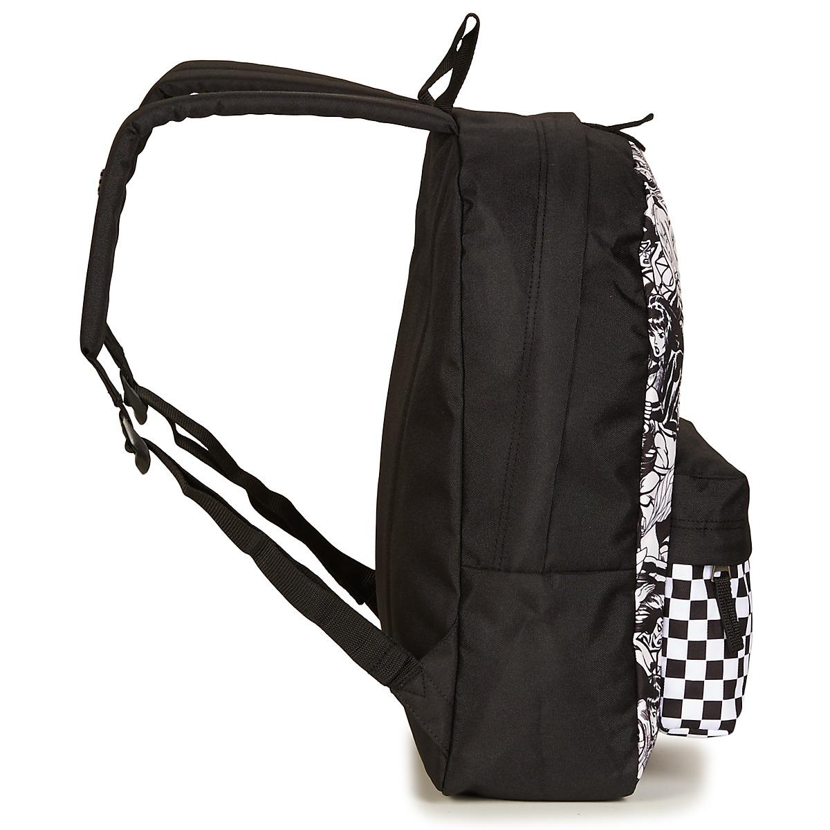 d2455d7006e066 Vans Marvel Women Realm Backpack Men s Backpack In Black in Black ...
