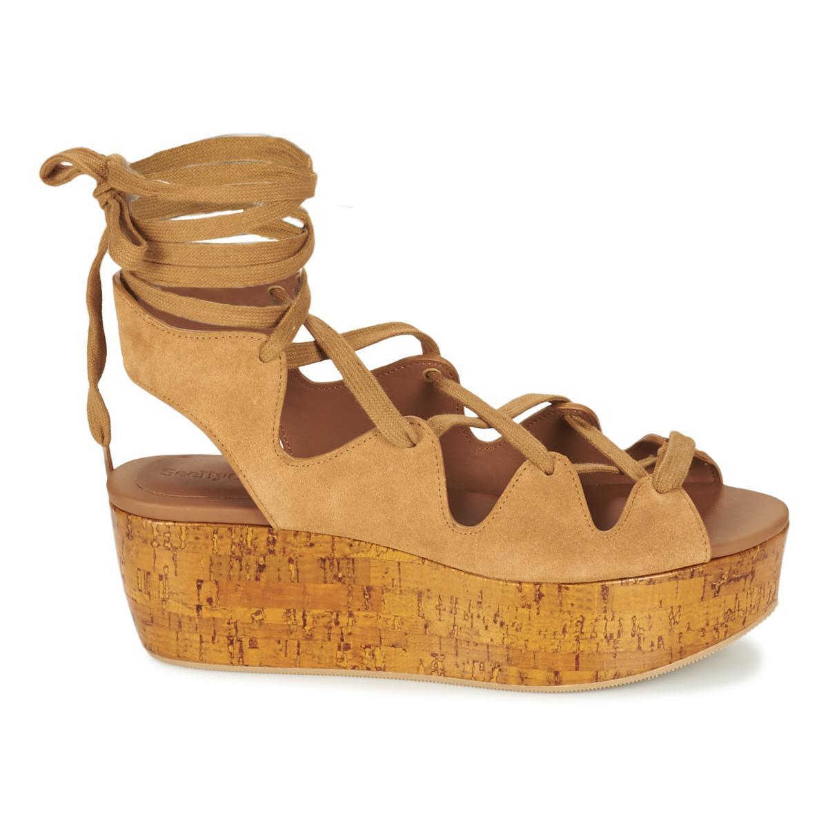 Chloé SB24200 women's Sandals in Cheap Sale Cheap Footlocker Pictures Sale Online Free Shipping Cost Free Shipping Clearance Free Shipping Footlocker YEaJvGAK