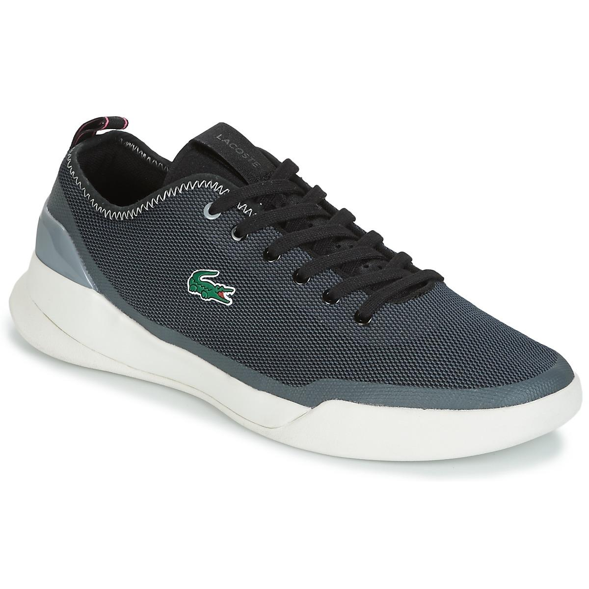 2233c3a58c9316 Lacoste Lt Dual 118 1 Men s Shoes (trainers) In Black in Black for ...