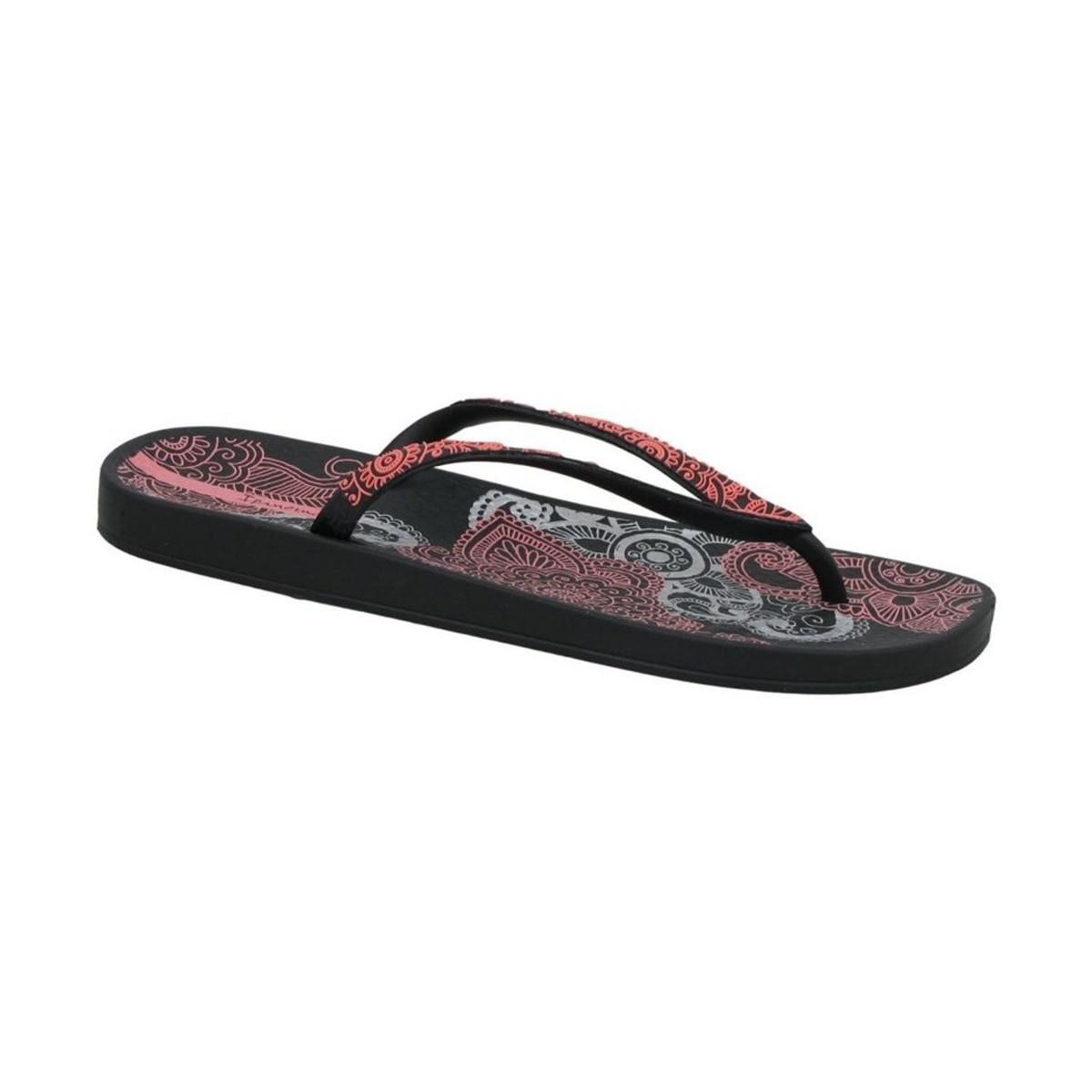 Ipanema Lovely V Womens Flip Flops / Sandals - Black