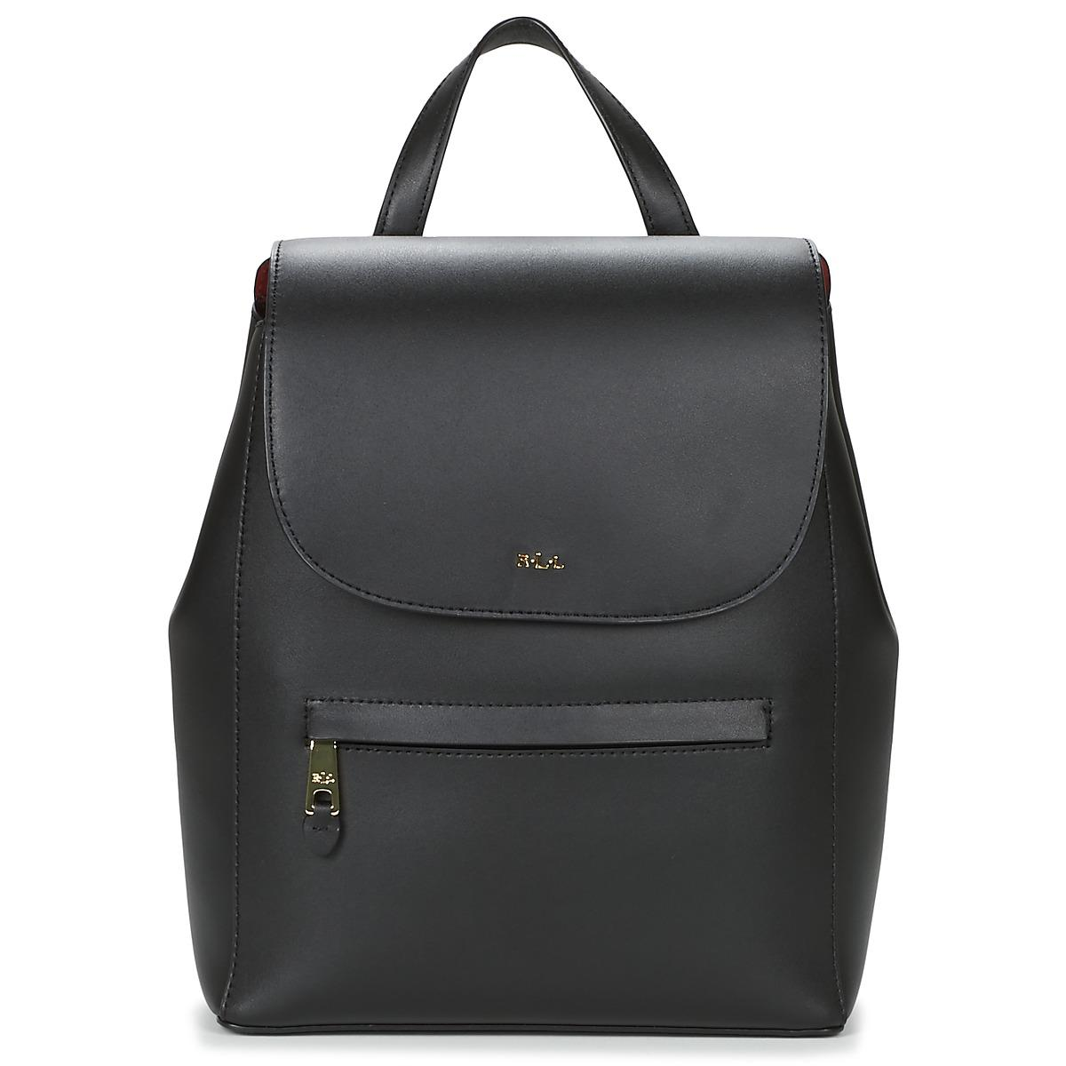 5191f2eae49df Ralph Lauren Dryden Ellen Women s Backpack In Black in Black - Lyst