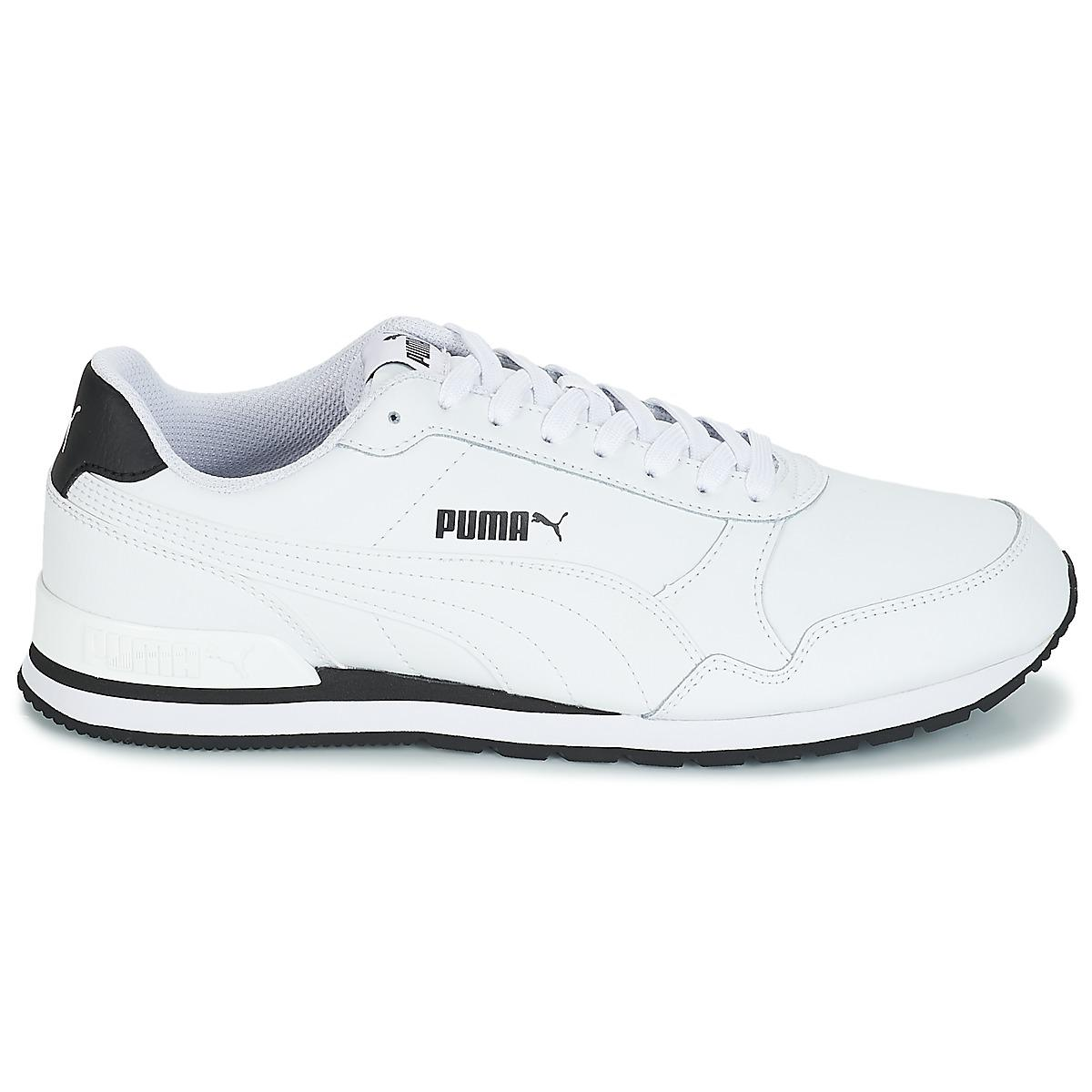 PUMA St Runner V2 Ful.wht Shoes (trainers) in White for Men - Lyst a10f3045d