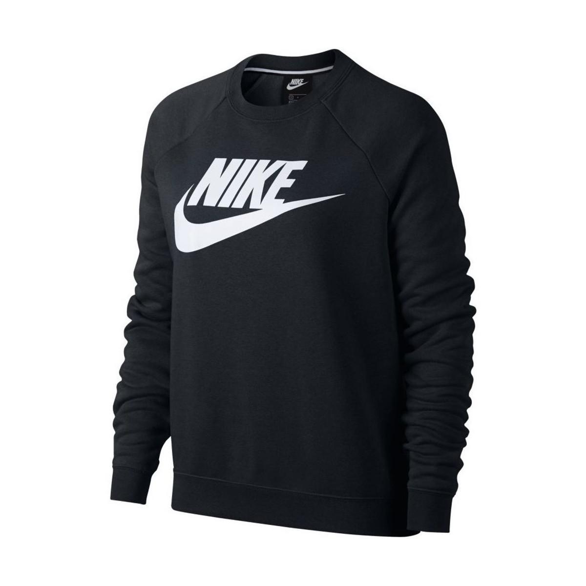 Nike Sweatshirt Black Crew In Lyst Rally Zwv8vrwhp Women's Sportswear 5wnwxZA