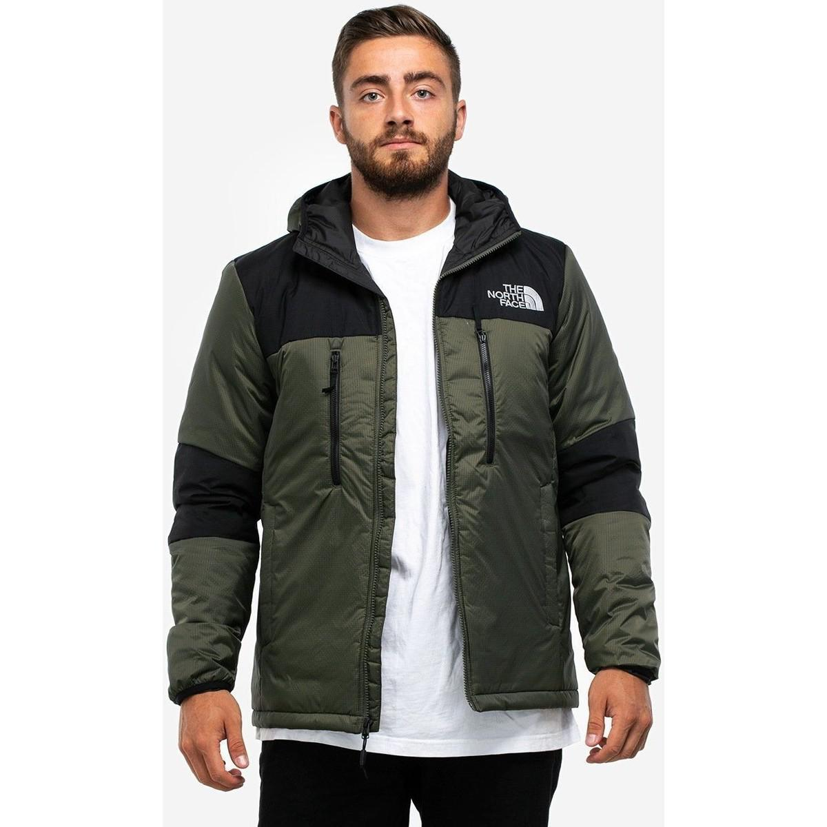 The North Face The Nort Face M Him Ligt Synt Hood New Taupe Greentnf Black L2g Men's Jacket In Green for men