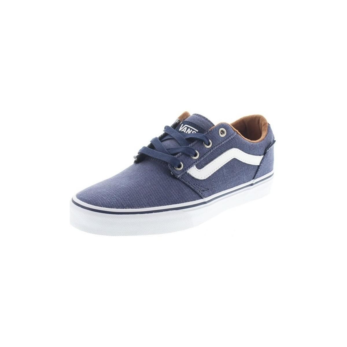 1fe90d437e0af7 Vans Chapman Men s Shoes (trainers) In Multicolour in Blue for Men ...