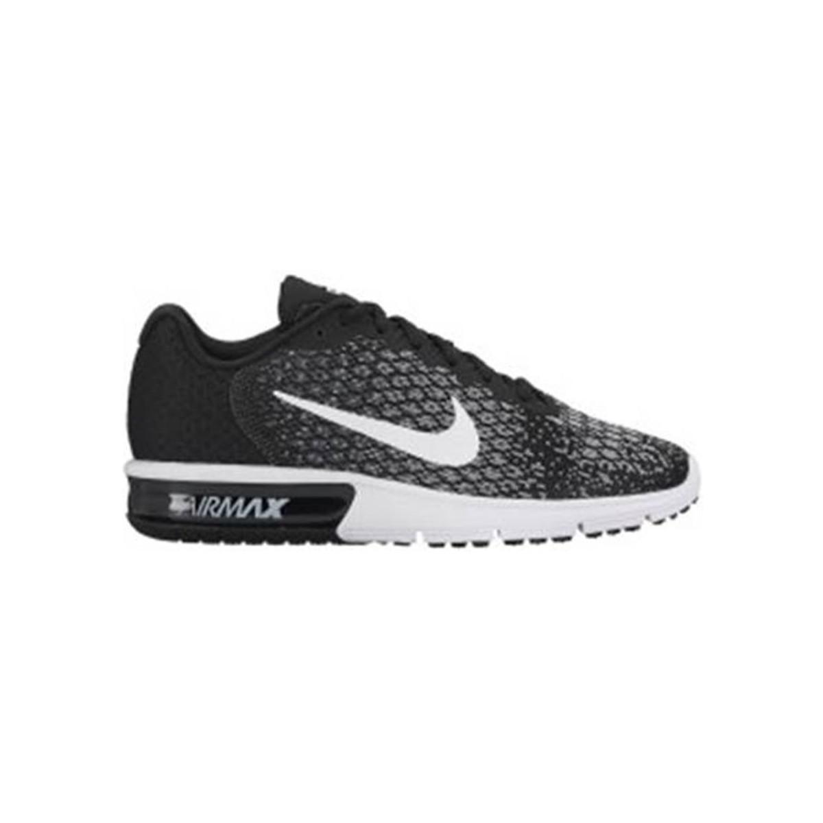 37ed045c32 Nike Wmns Air Max Sequent 2 Women's Running Trainers In White in ...