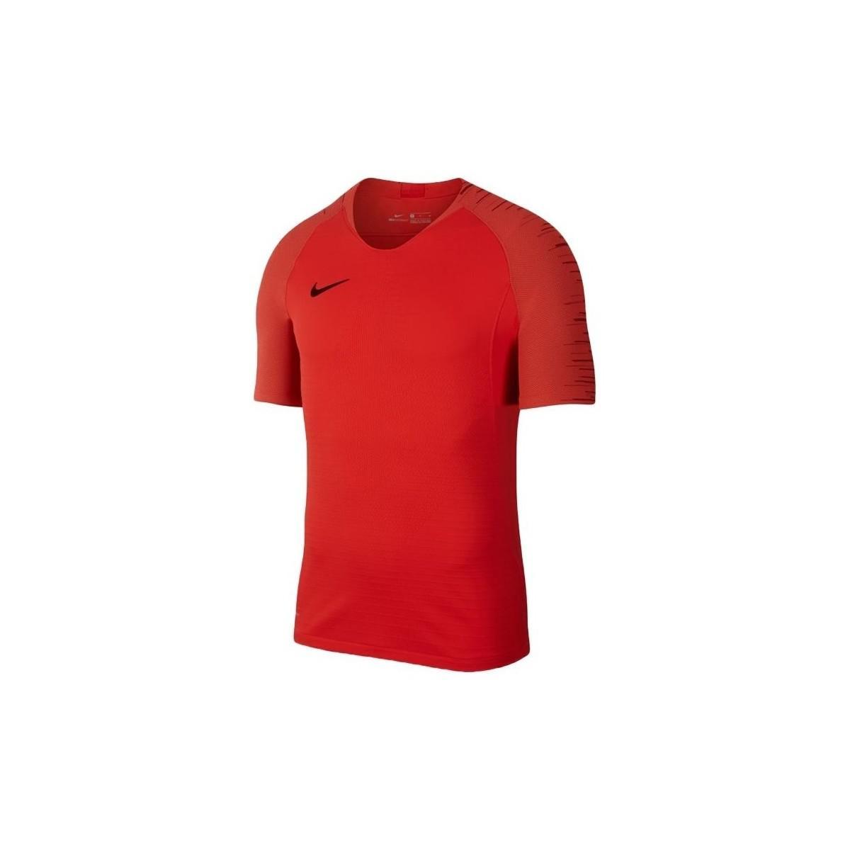 75801d7d Nike Vaporknit Strike Top Ss Men's T Shirt In Red in Red for Men - Lyst