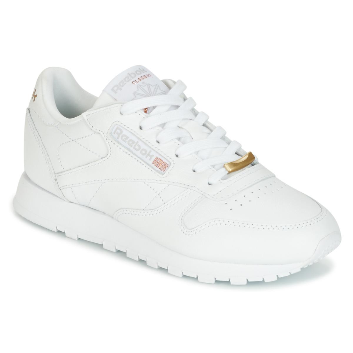 87f492609b646 Gallery. Previously sold at  Spartoo · Women s Reebok Classic Leather ...