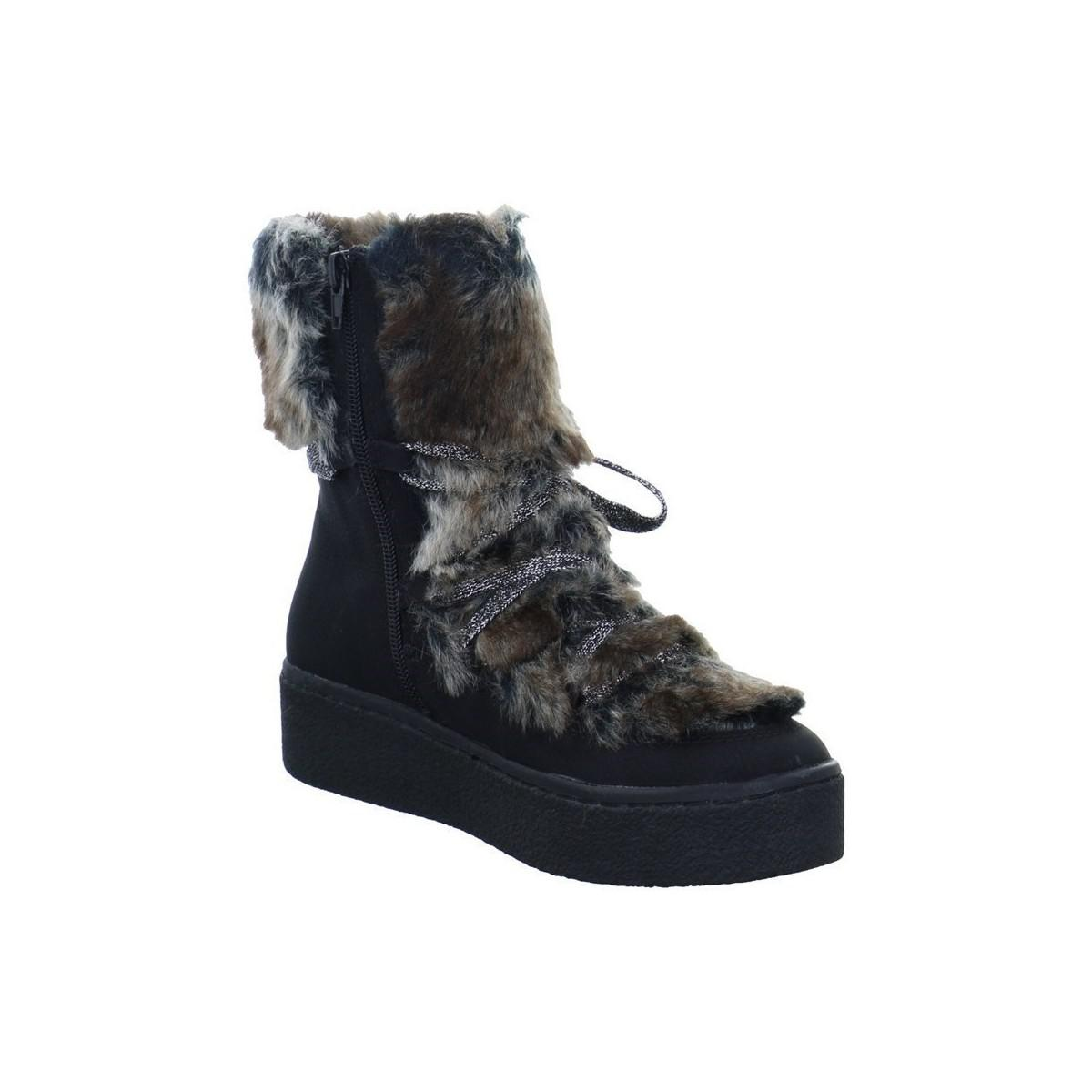 Bugatti Frini Evo Women s Shoes (high-top Trainers) In Black in ... 6eb77a296b