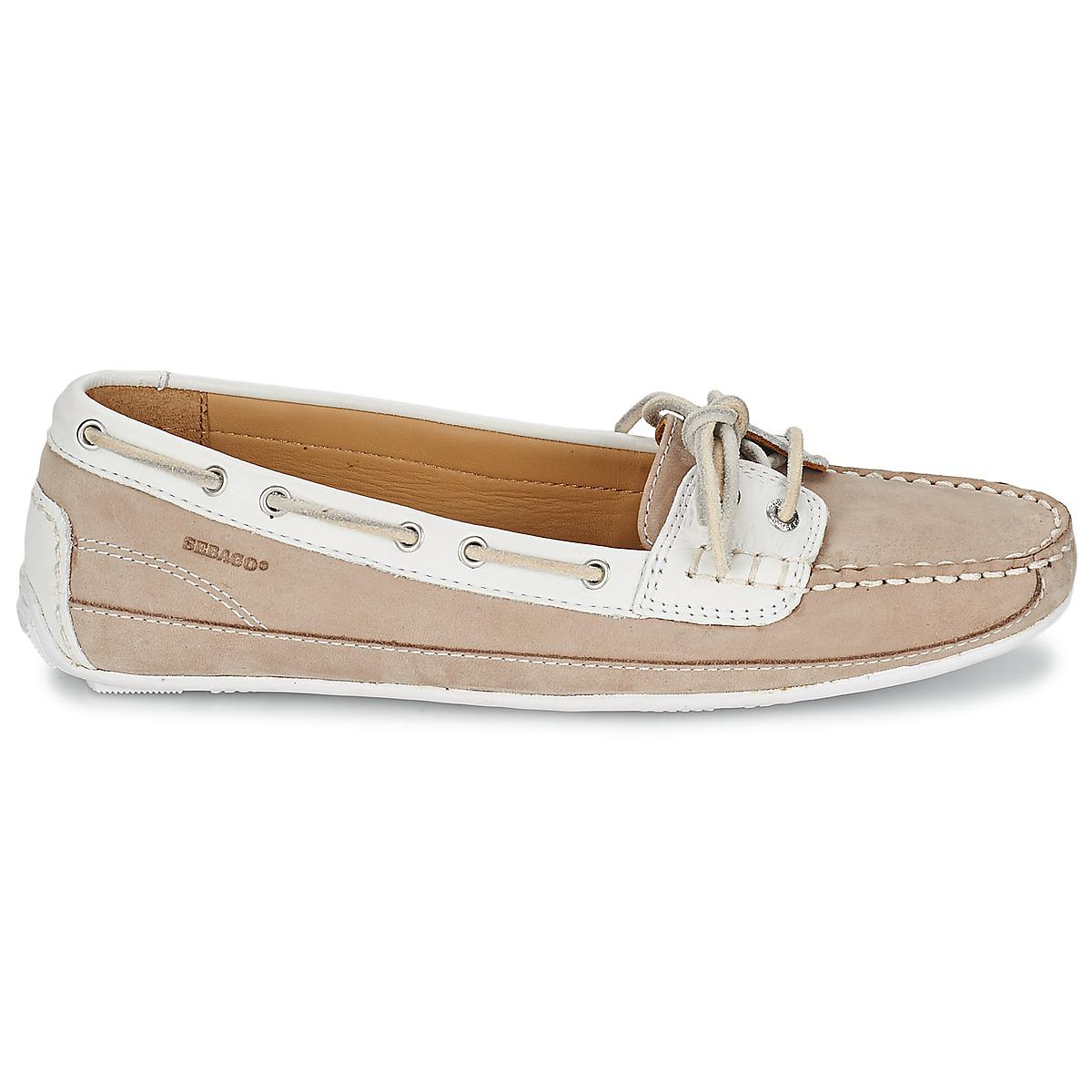 661fbb9f4440d Sebago - Natural Bala Women's Boat Shoes In Beige - Lyst. View fullscreen