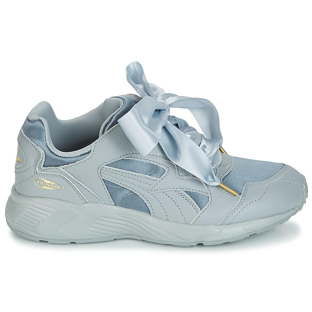 PUMA - Prevail Heart Satin Women s Shoes (trainers) In Blue - Lyst. View  fullscreen 983d0a058
