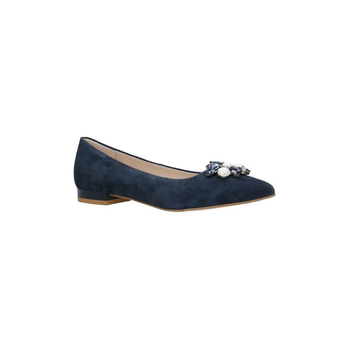 51332b290b5 Gino Rossi. Ballerinas Dah809 Navy Blue Woman Spring summer Collection 2018  Women s ...