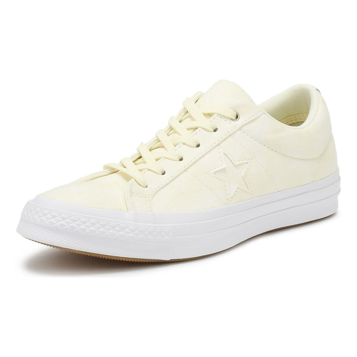 a0680a41983816 Converse - One Star Women s Shoes (trainers) In Yellow - Lyst. View  fullscreen