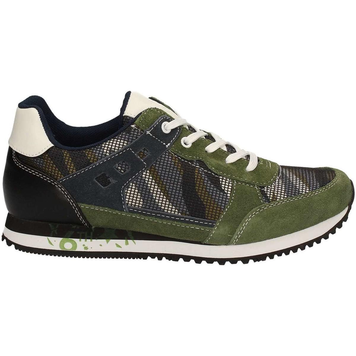 Gaudi V71-65103 Sneakers Man Verde Men s Shoes (trainers) In Green ... 64c0ef428de