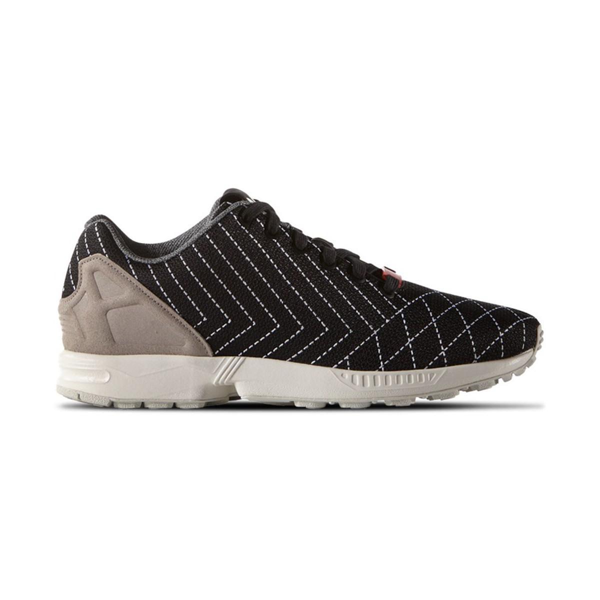 Adidas zx flujo sashiko hombre 's zapatos (instructores) en negro en negro para