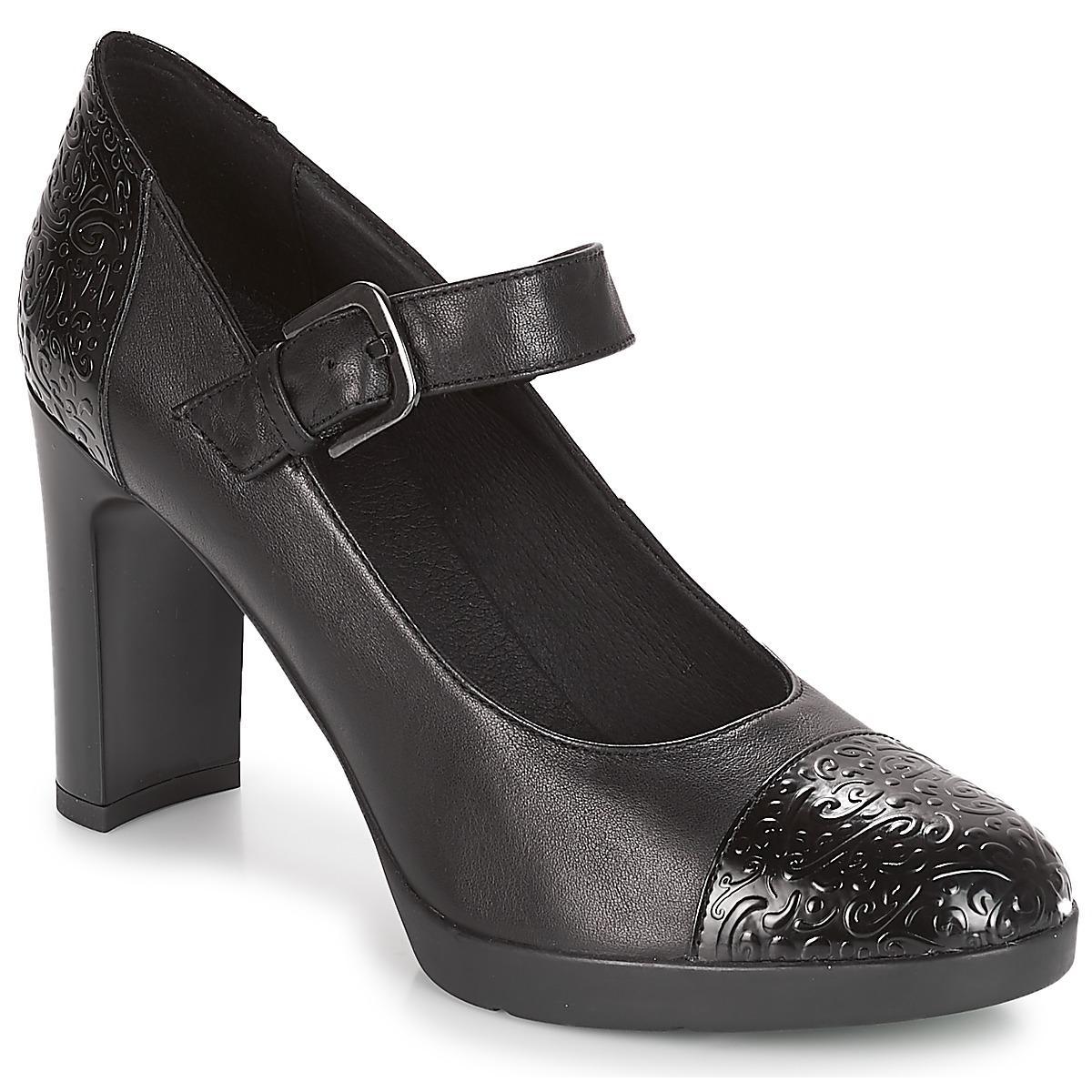 009d01222c7 Geox - D Annya High Women s Court Shoes In Black - Lyst. View fullscreen