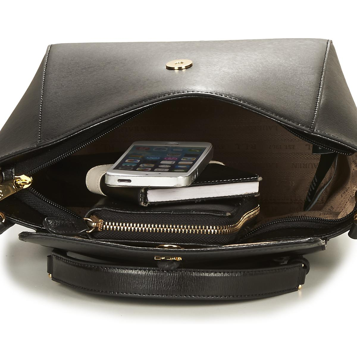 9a7b9220af62 Ralph Lauren Newbury Barclay Crossbody Women s Handbags In Black in ...