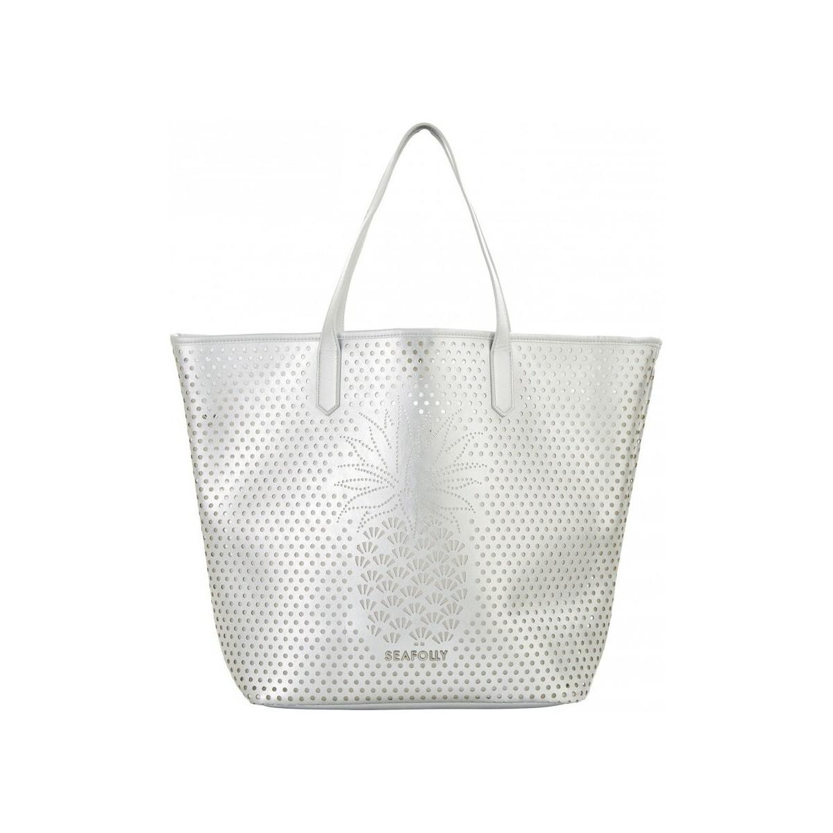 Sky Blue Beach Bag, Luxury Tote Seafolly