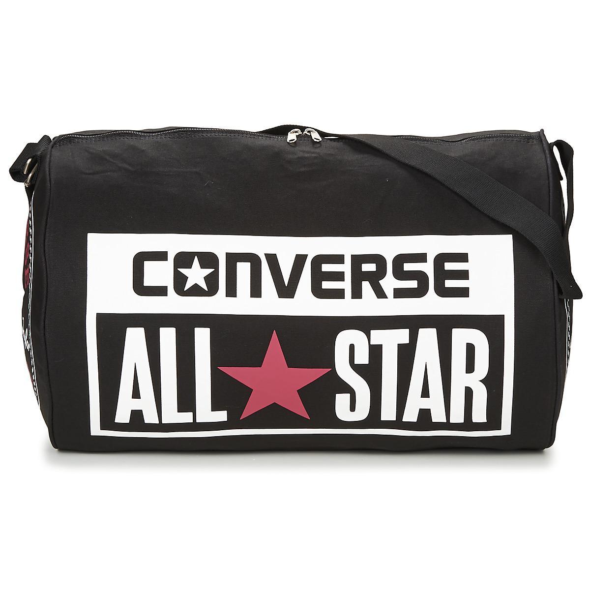 203efdfbd24 Converse Legacy Barrel Duffel Bag Men's Sports Bag In Black in Black ...
