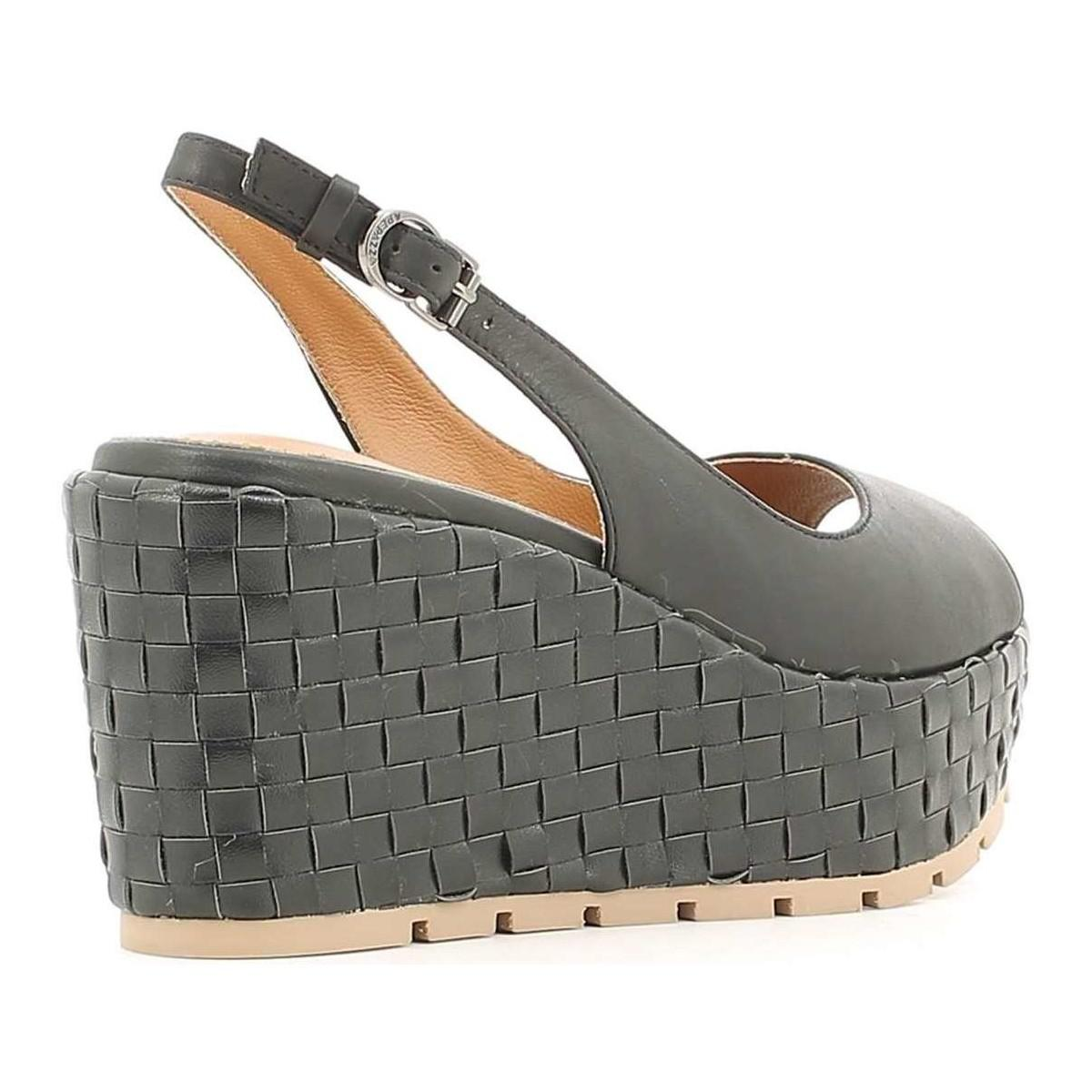 In Wedge Sandals Black Women Vty01 Apepazza Nnk8ox0wp Women's Ajq3Rc5L4