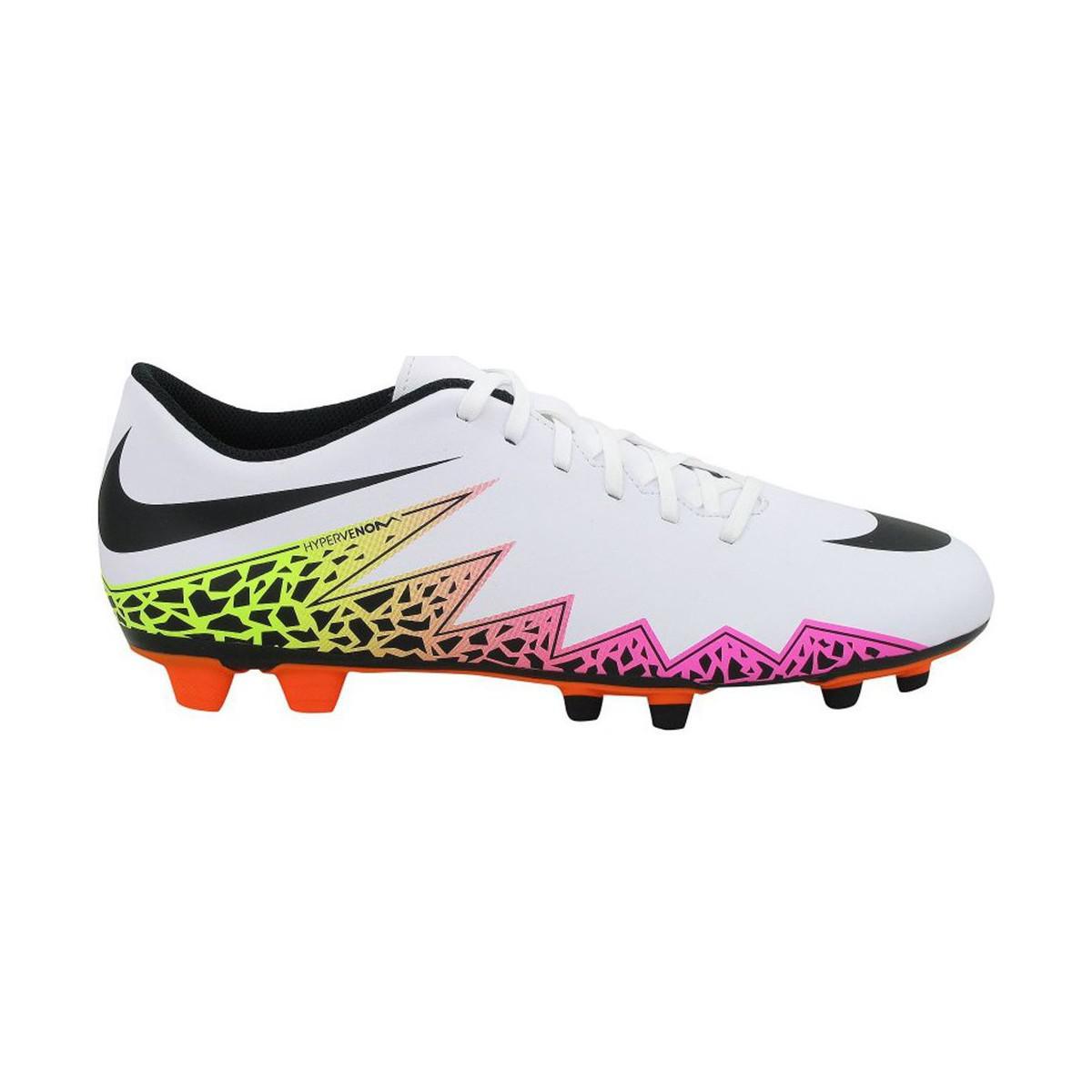 brand new 5c4cf e86c8 ... uk nike hypervenom phade ii fg mens shoes trainers in white in white  5193c c74d6