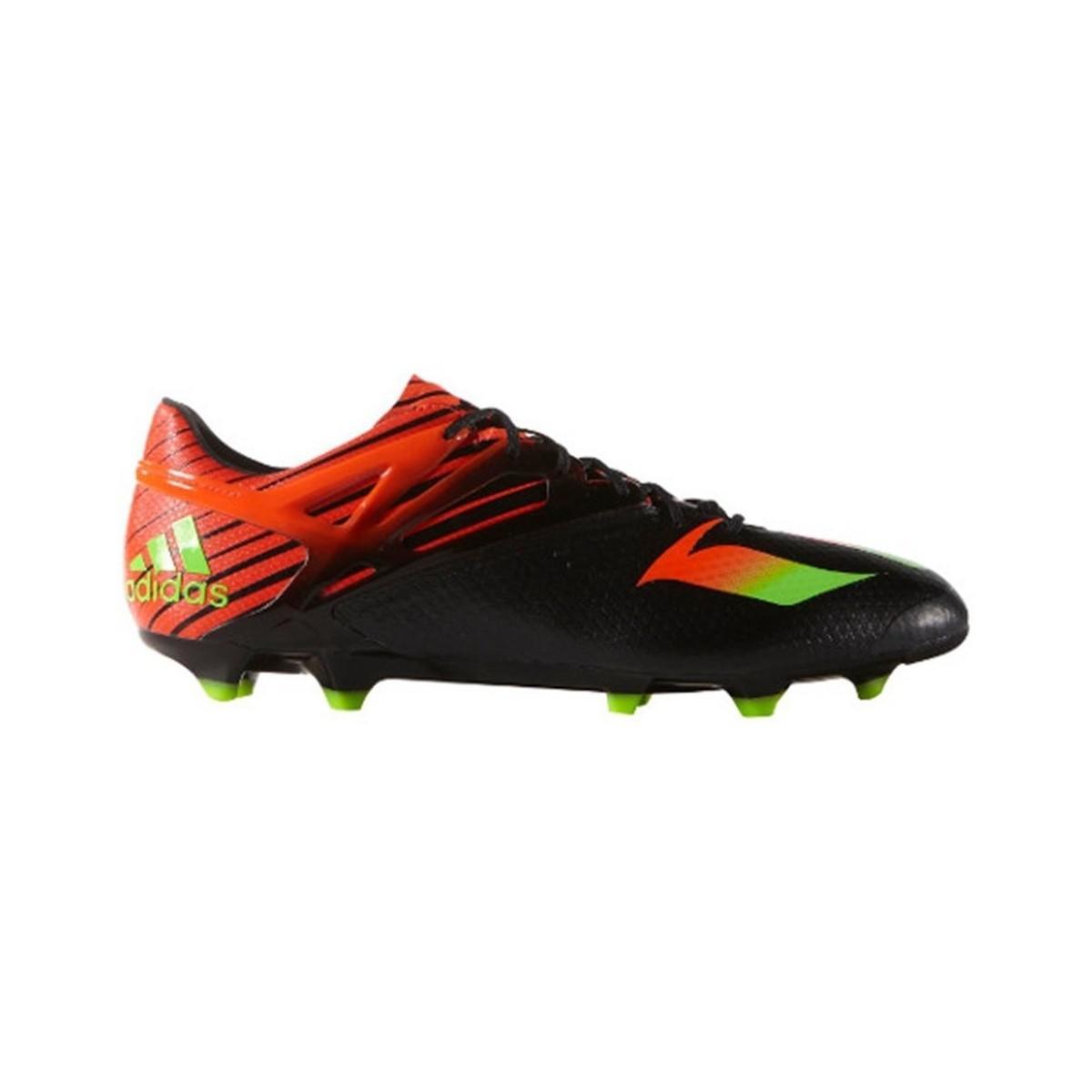 Adidas Messi 151 fgag hombres botas de fútbol en verde en verde para hombres