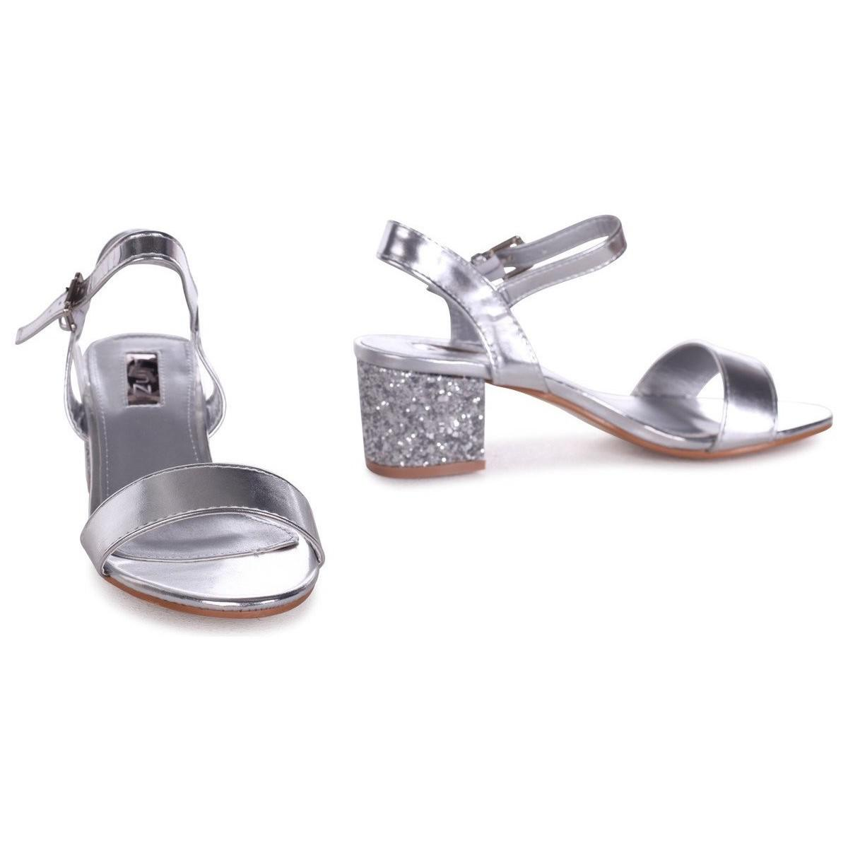 f39d5ca87a7 Linzi Guilty Women s Sandals In Silver in Metallic - Lyst