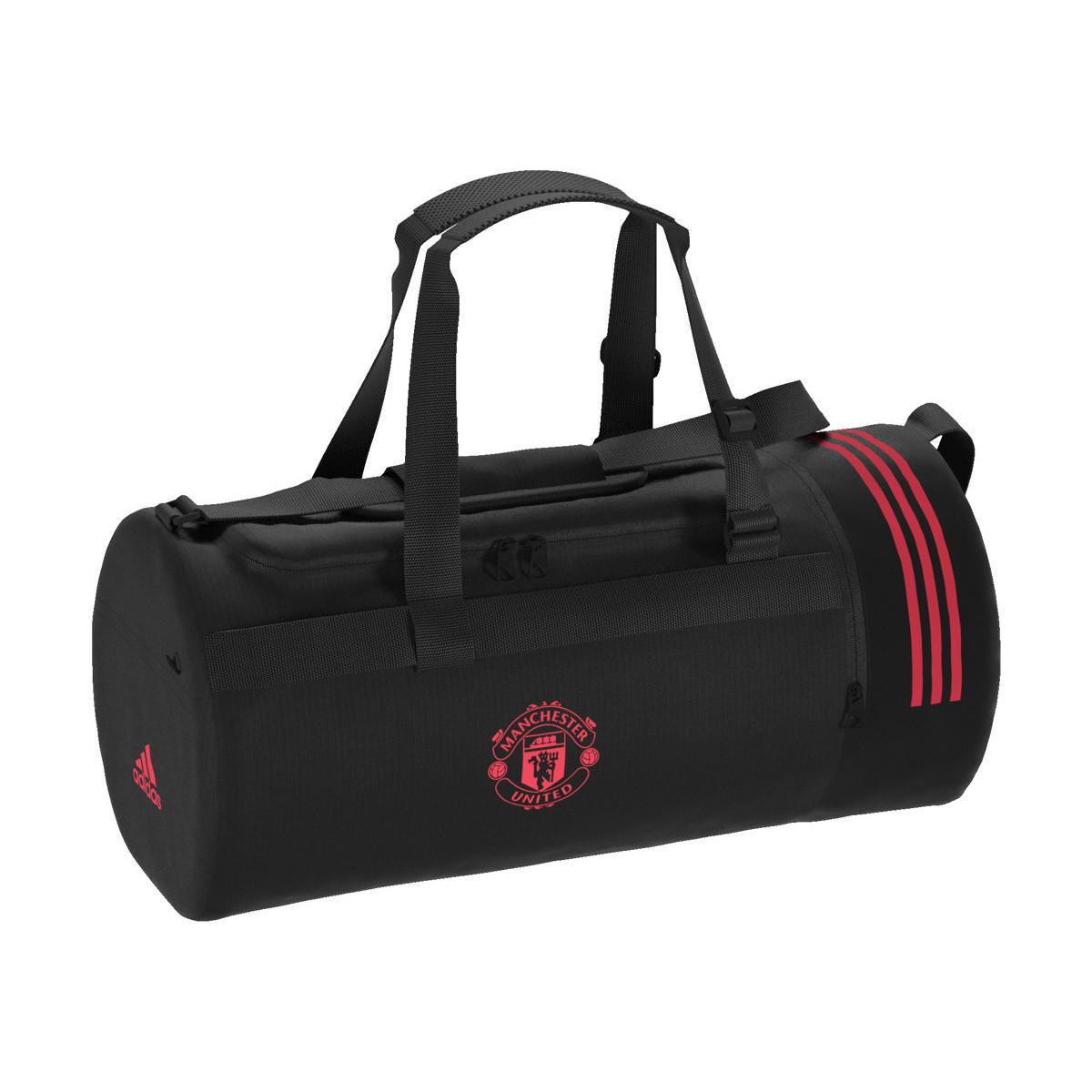 2bb8ae7f42 Adidas - Black Manchester United Duffle Bag femmes Sac de sport en Noir for  Men -. Afficher en plein écran