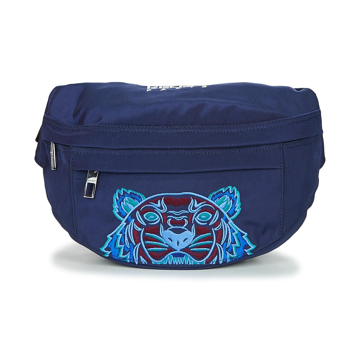 d3b8965aa KENZO Icon Bumbag Hip Bag in Blue for Men - Lyst