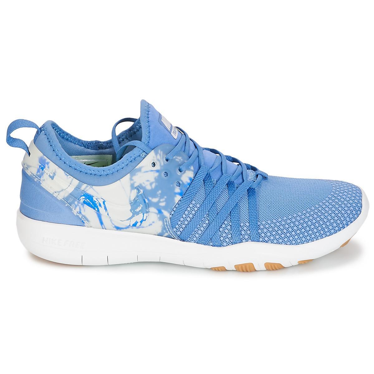 98ee31717e8b ... czech nike free trainer 7 womens trainers in blue lyst. view fullscreen  3e7cd 791d5