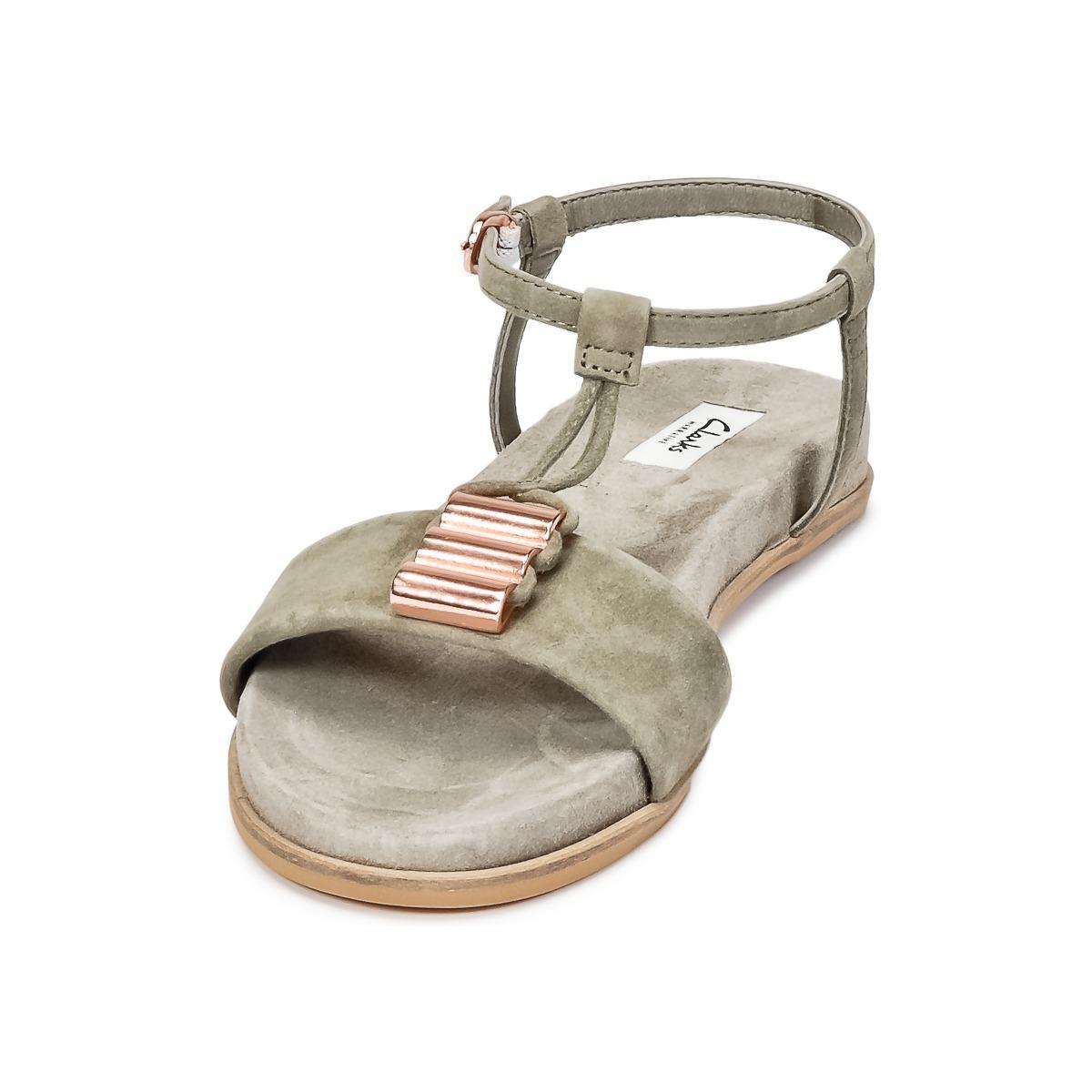 fe53b2004aa Clarks Agean Cool Women s Sandals In Grey in Gray - Lyst