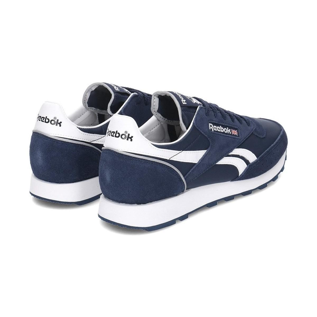2d7da5c521fb0 Reebok Classic 83 Mu Men s Shoes (trainers) In Multicolour in Blue ...