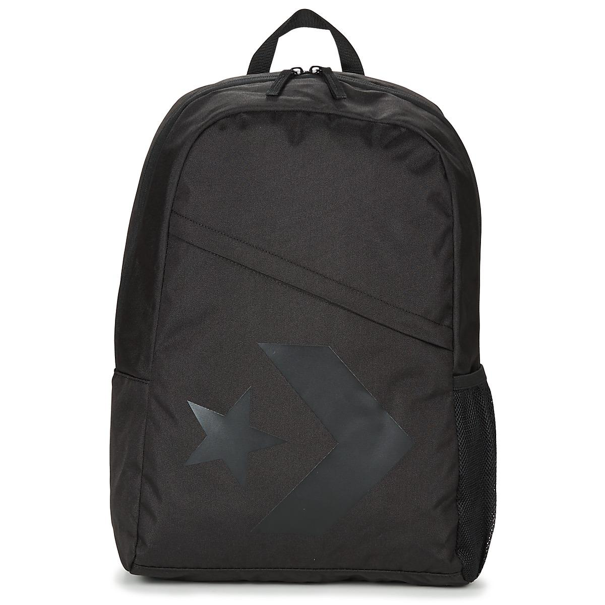 9fb242fd91a Converse Speed Backpack Star Chevron Men's Backpack In Black in ...