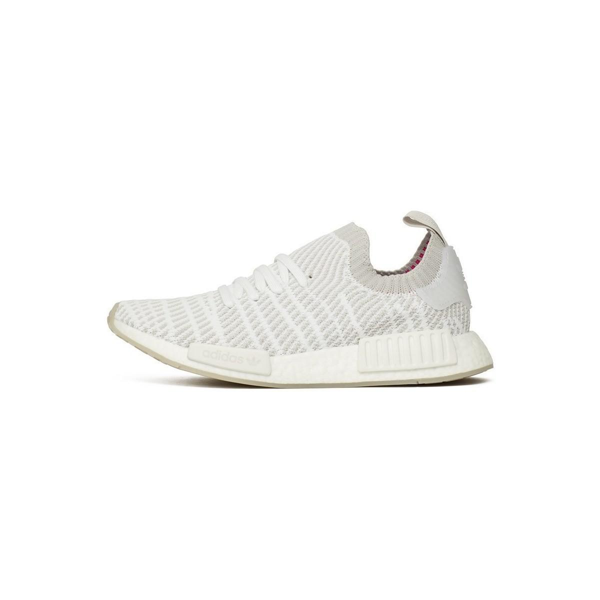 ec2275253 adidas Nmd R1 Stlt Primeknit Men s Shoes (trainers) In White in ...