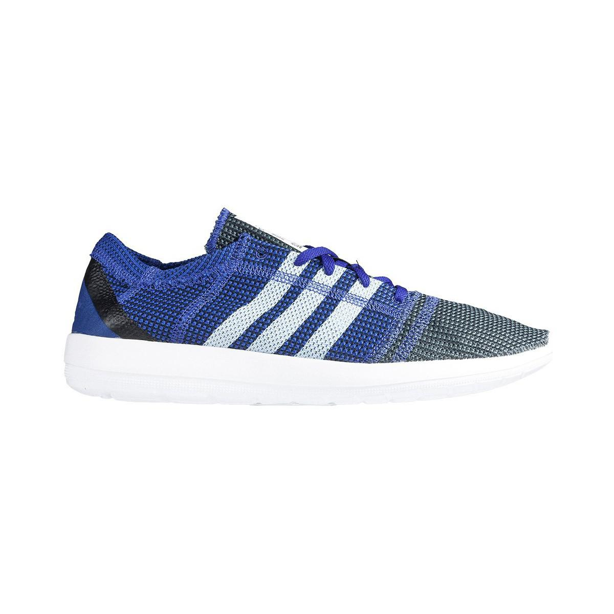 02a91551665 Adidas Element Refine Tricot Men s Running Trainers In White in ...