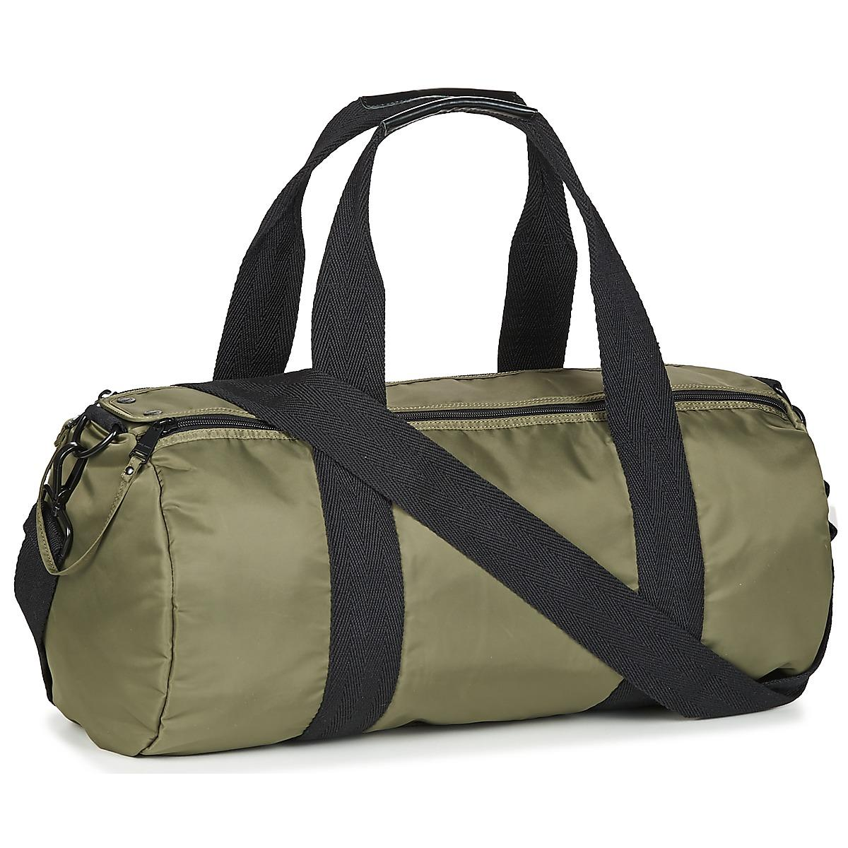 cda89f7f3593 Fred Perry Sports Nylon Barrel Men s Sports Bag In Green in Green ...