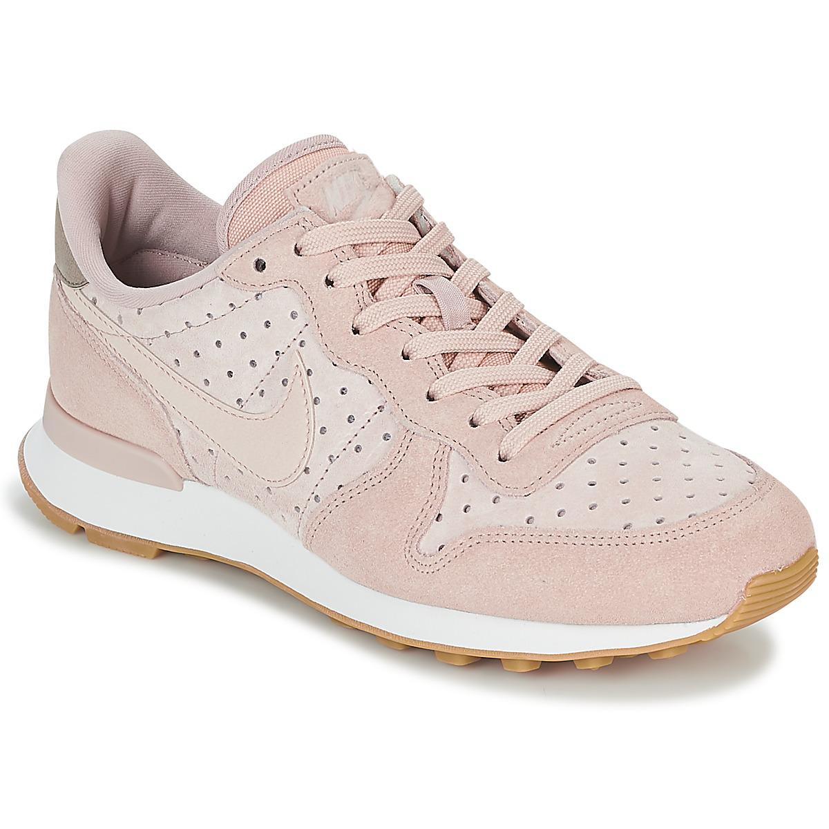 Nike Internationalist Premium W Women s Shoes (trainers) In Pink in ... c3388bd3c0ab