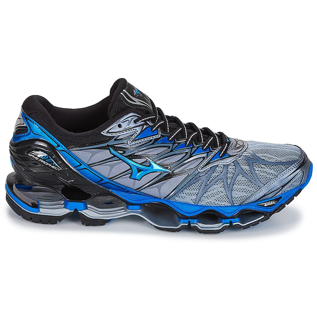more photos 22e3c f613c Mizuno Wave Prophecy 7 Running Trainers in Gray for Men - Ly