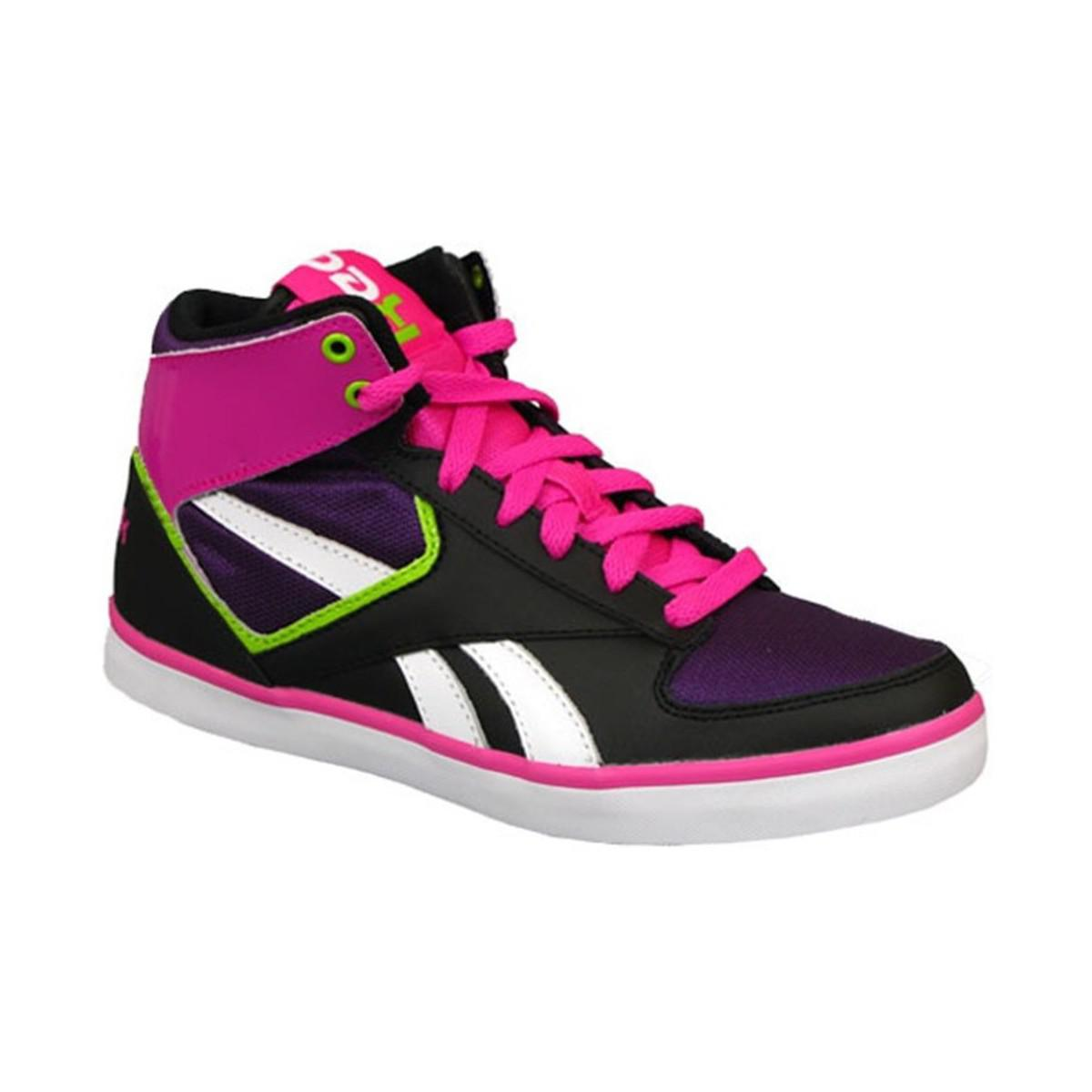 f75d6856f23c Reebok Hazelboro Mid Women s Shoes (high-top Trainers) In Black in ...