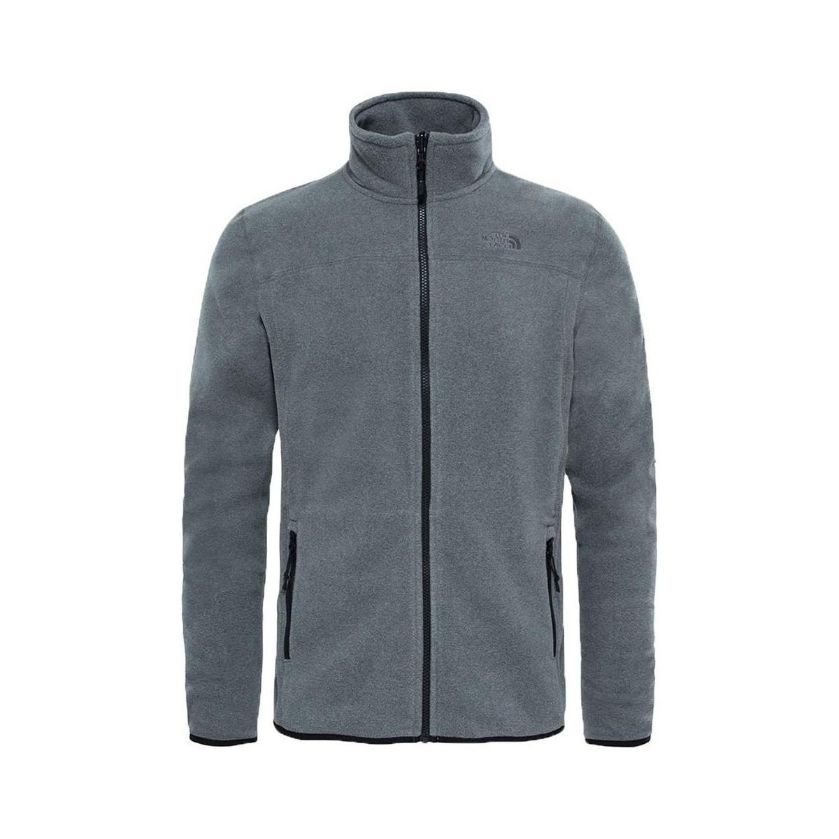 38c1e3a89 The North Face M 100 Glacier Men's Fleece Jacket In Grey in Gray for ...