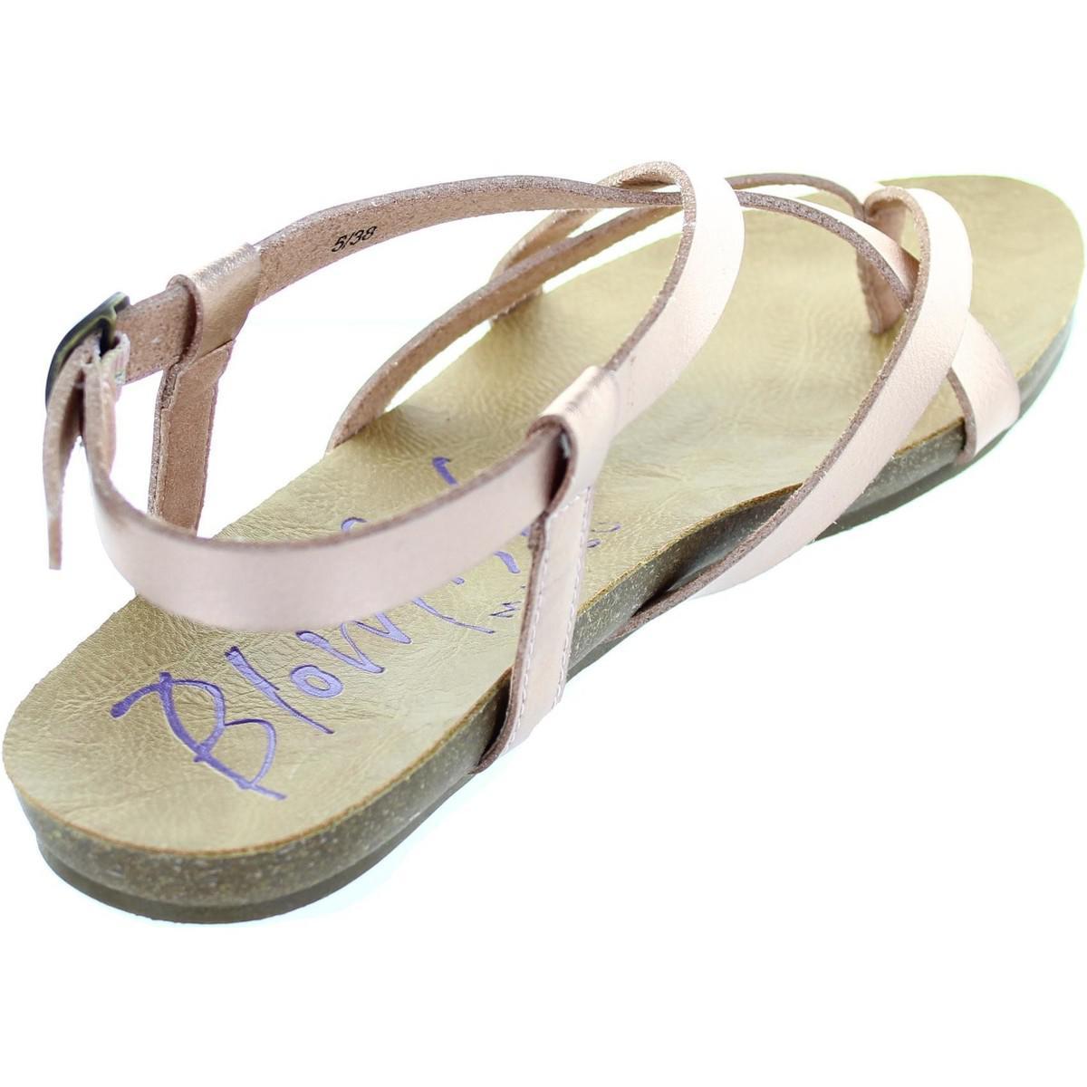a261f899cf1 Blowfish Malibu Granola Women s Sandals In Gold in Metallic - Lyst