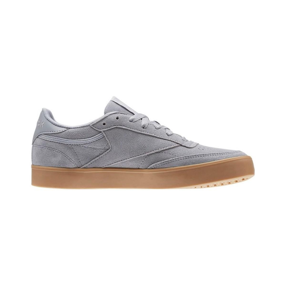 Reebok Club C 85 Fvs Women s Shoes (trainers) In Grey in Gray - Lyst 527288631