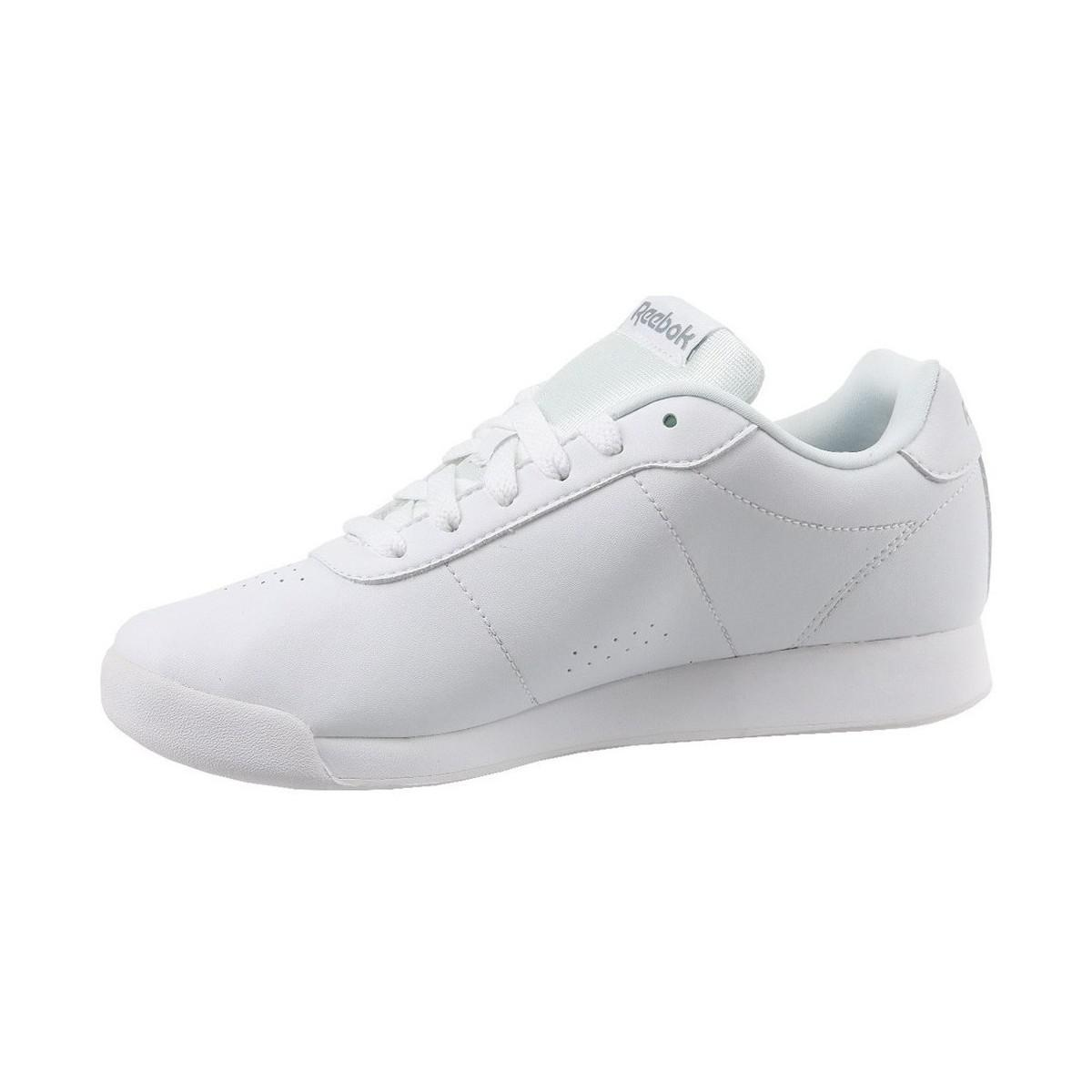 cc7bd624f23ed9 Reebok Royal Charm Women s Shoes (trainers) In White in White - Lyst